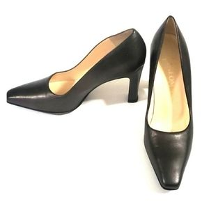 NEW Paloma Vintage Heels Italian Gunmetal Grey 6